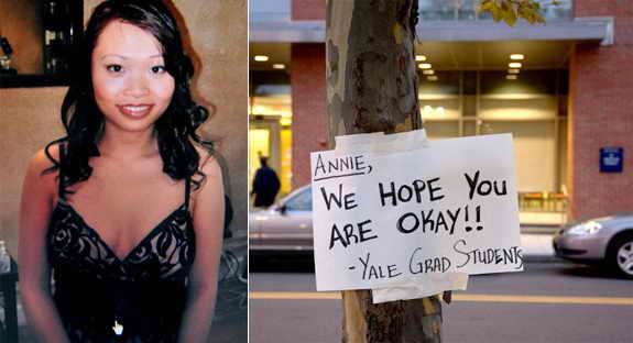 8-го сентября пропала студентка Йельского Университета Энни Ли