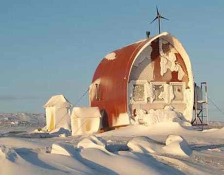 Дом на воде Арктика
