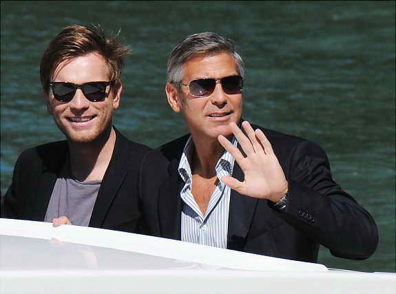 Эван МакГрегор и Джордж Клуни