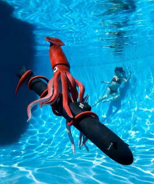 игрушка осминог