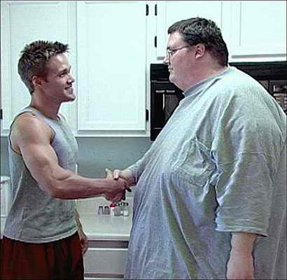 Поразительное похудение