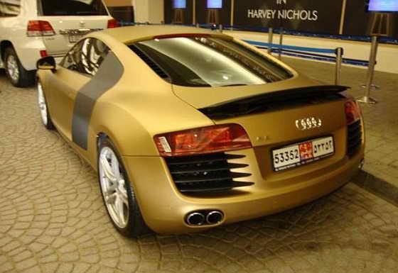 Золотая машина фото 7