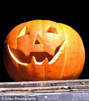Сравним с тыквой на Хэллоуин