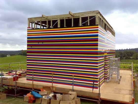 Как построить лего дом