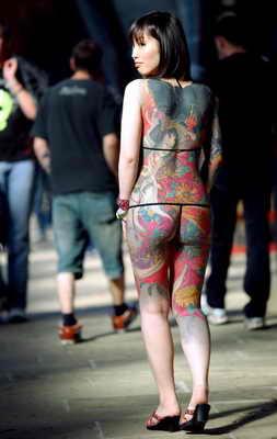 В Лондоне состоялся 5-й международный Фестиваль татуировок