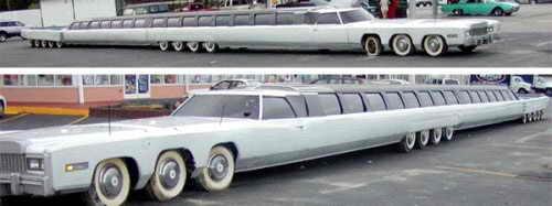 Самый длинный лимузин