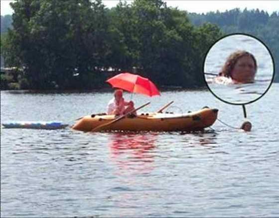 жены чтоб не утонула ее надо привязывать