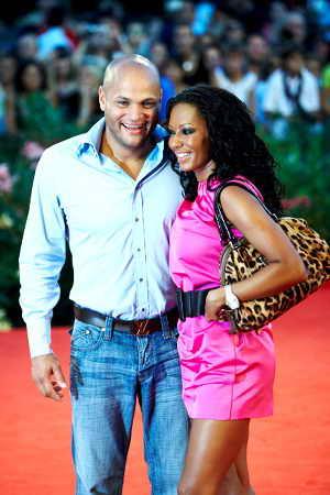 Mel B с мужем Стифеном Белафонте