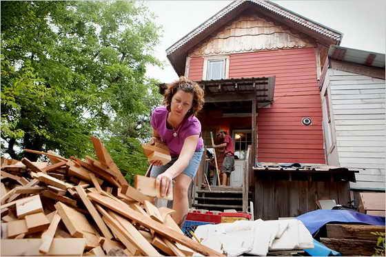 Дом.который может построить женщина своими руками