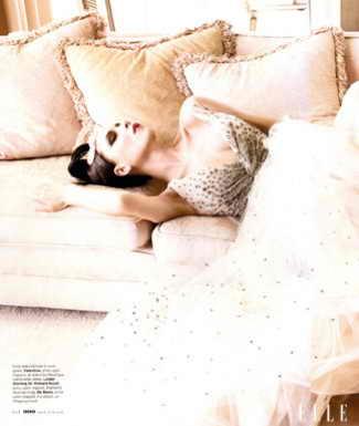 Victoria Beckham для ELLE