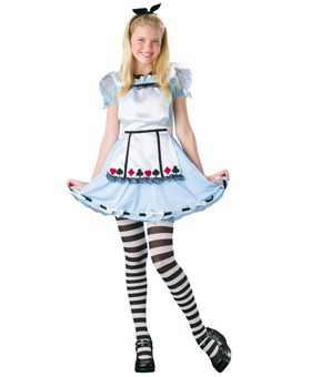 """Очень модными, особенно среди детей, будут костюмы книги Льюиса Кэррола """"Алиса в стране чудес"""""""