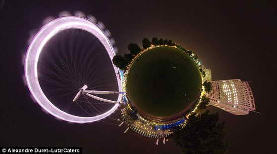 Впечатляюще: Лондонский Глаз и вид с реки Темза