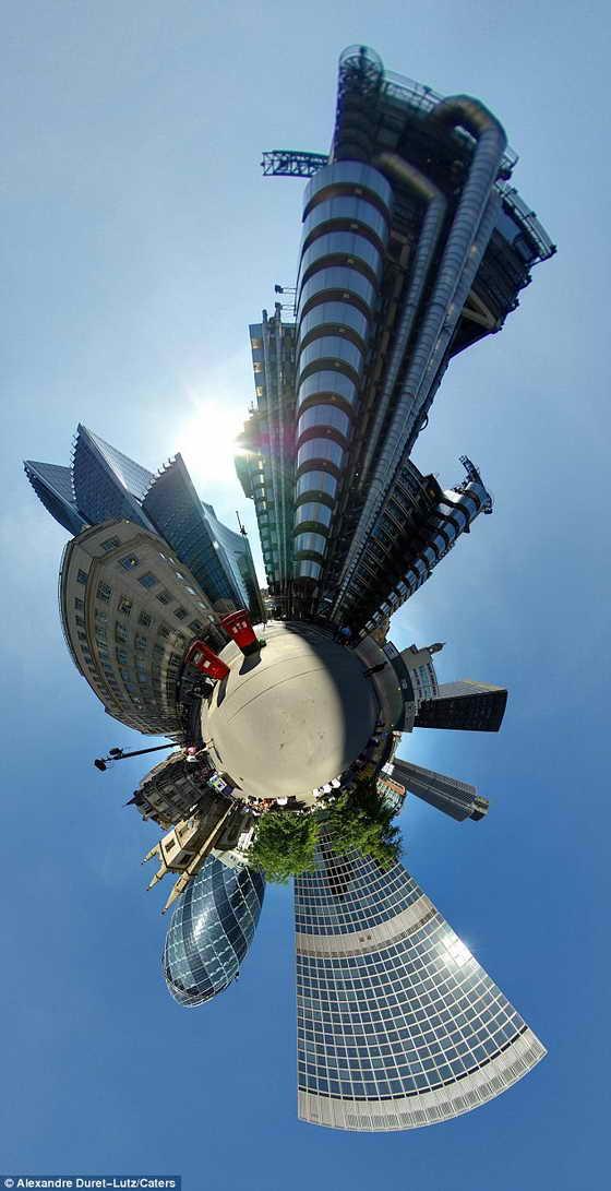 Городской мир: Самые примечательные места Лондона в одной сфере