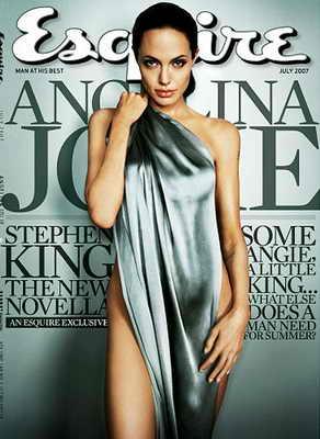 Анжелина Джоли появилась обнаженной в журнале Esquire