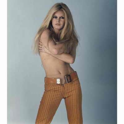 Бриджит Бардо на пике популярности в 60-х