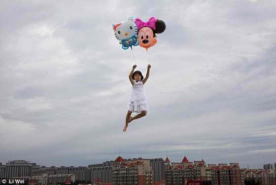 Яркие фото Li Wei