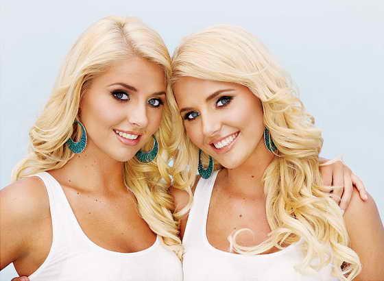 Близняшки Кристина и Карисса Шэннон - Мисс Playboy 2009