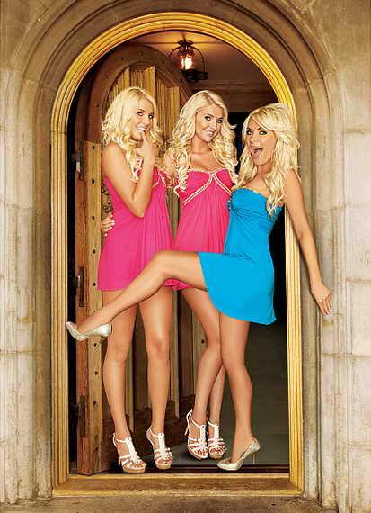 Модели Playboy Кристина, Карисса и Кристалл