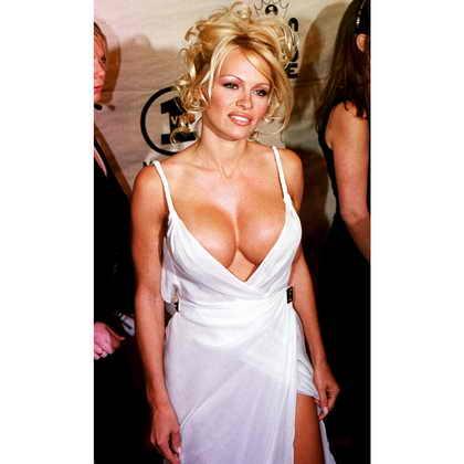 Памела Андерсон в 2001 году на шоу VH1 Divas Live в Нью Йорке