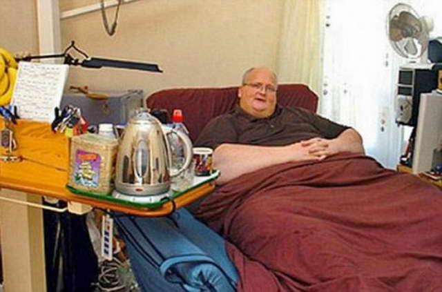 Самый толстый человек в мире Пол Мэсон