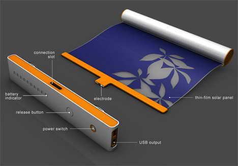 штора солнечная батарея