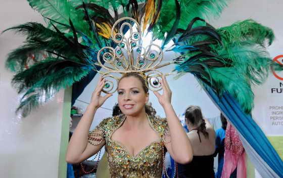 """В Боготе, Колумбия, в женской тюрьме """"Добрый пастырь"""" прошел ежегодный конкурс """"Мисс конгениальность"""""""