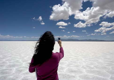 Соляные равнины в Сальте, Аргентина