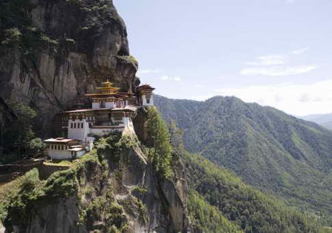 Монастырь Такстан в Королевстве Бутан