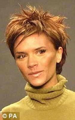 2000: пикантная карамель в исполнении Виктории Бэкхем