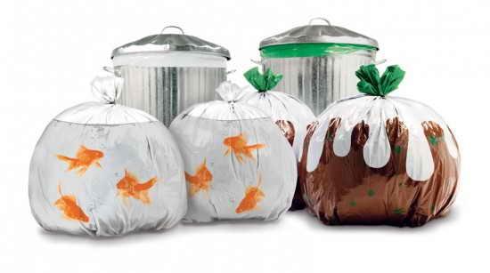 Прикольные пакеты для мусора