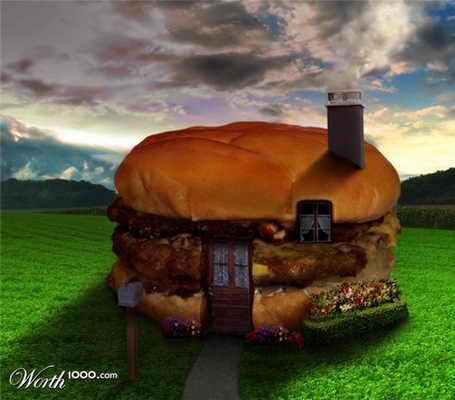 Дом Чизбургер