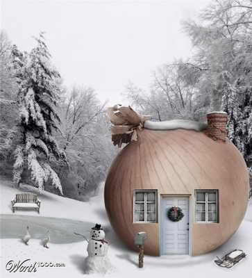 Рождество в луковом доме