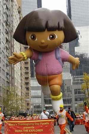 Воздушный шар Доры в поисках приключений (Dora the Explorer)