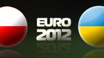 Евро-2012 эскиз на логотип масштаб