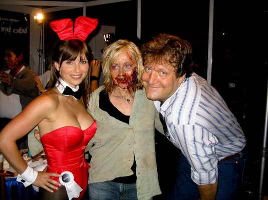 Сексуальность граничит с ужасом и отвращением - такое возможно только на веченинке Halloween в особняке Playboy