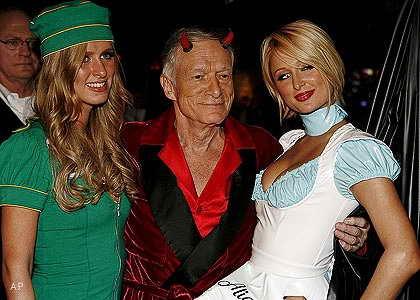 Halloween в особняке Playboy