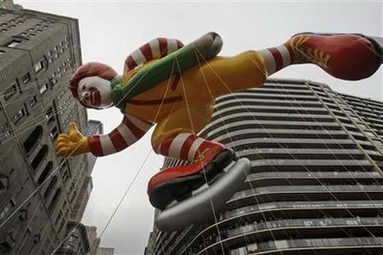 Воздушный шар Рональд Макдональд (Ronald McDonald)