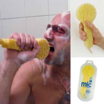 Губка-микрофон