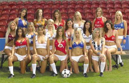 Футбол - это один из видов спорта, где женщина может быть сильной