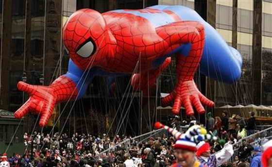 Воздушный шар Spiderman (Человека Паука)