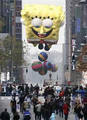 Воздушный шар Губка Боб Квадратные Штаны (Spongebob Squarepants)