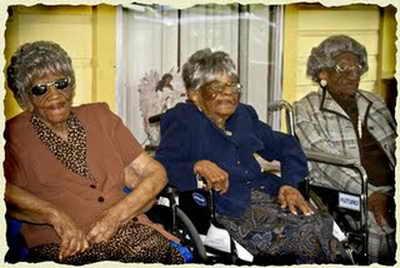 Самые пожилые сестры в мире - Сестры Торнтон