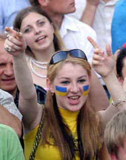 Волонтеры Евро-2012