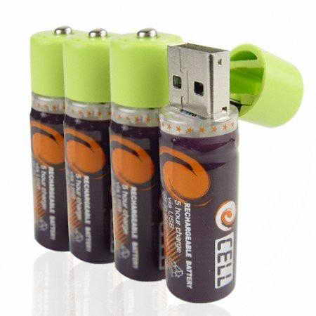 флэшка батарейка