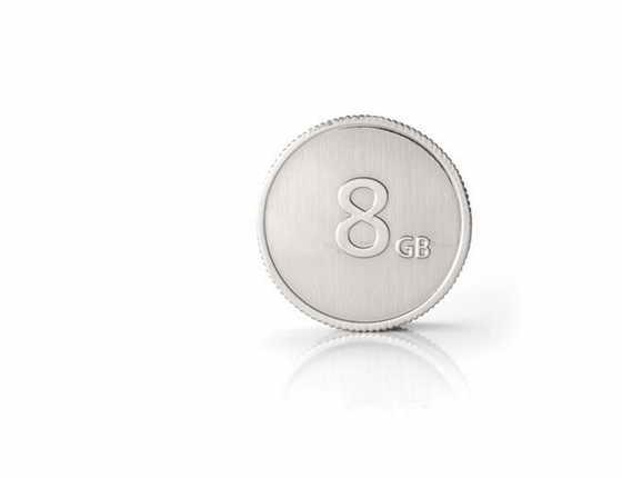 флэшка монета