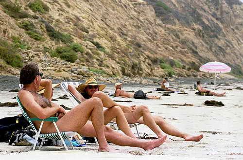 Черный пляж в Сан-Диего