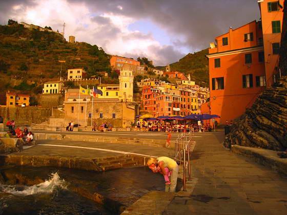 пейзаж в Италии