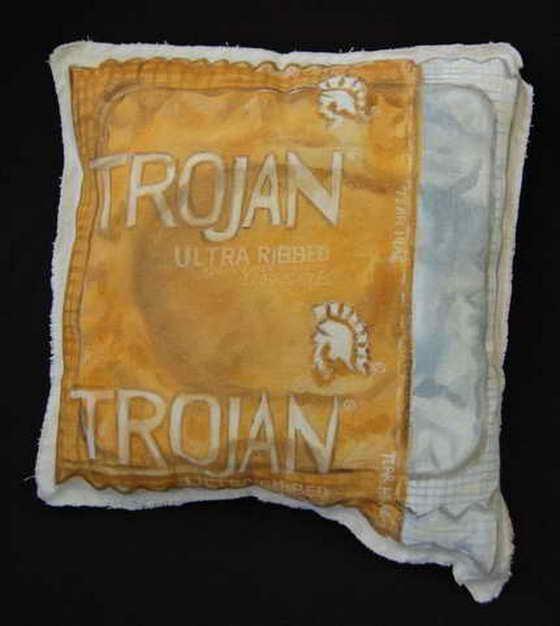 Подушка-презерватив