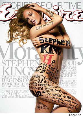 Израильская модель Бар Рафаэли на обложке июльского номера Esquire