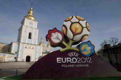 Логотип Евро-2012 в Киеве